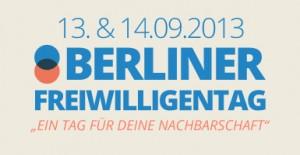 Logo Berliner Freiwilligentag 2013