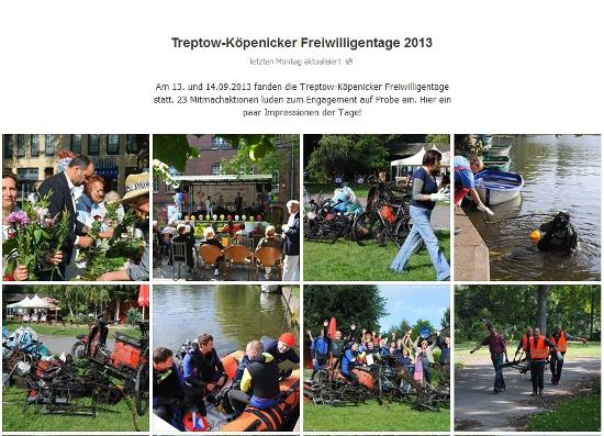 Treptow-Köpenicker Freiwilligentage 2013