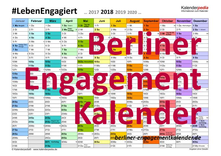 Berliner Engagementkalender
